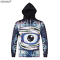 Newsosoo hip hop style men's assassins creed hooded hoodies youth fashion funny Graffiti eyes 3D printed man hoody H20