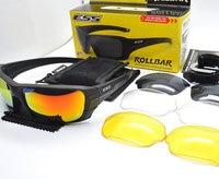 ESS ROLLBAR Polarized Tactical Sunglasses Military Glasses TR90 Crossbow Army Goggles Ballistic Test Bullet Proof Eyewear