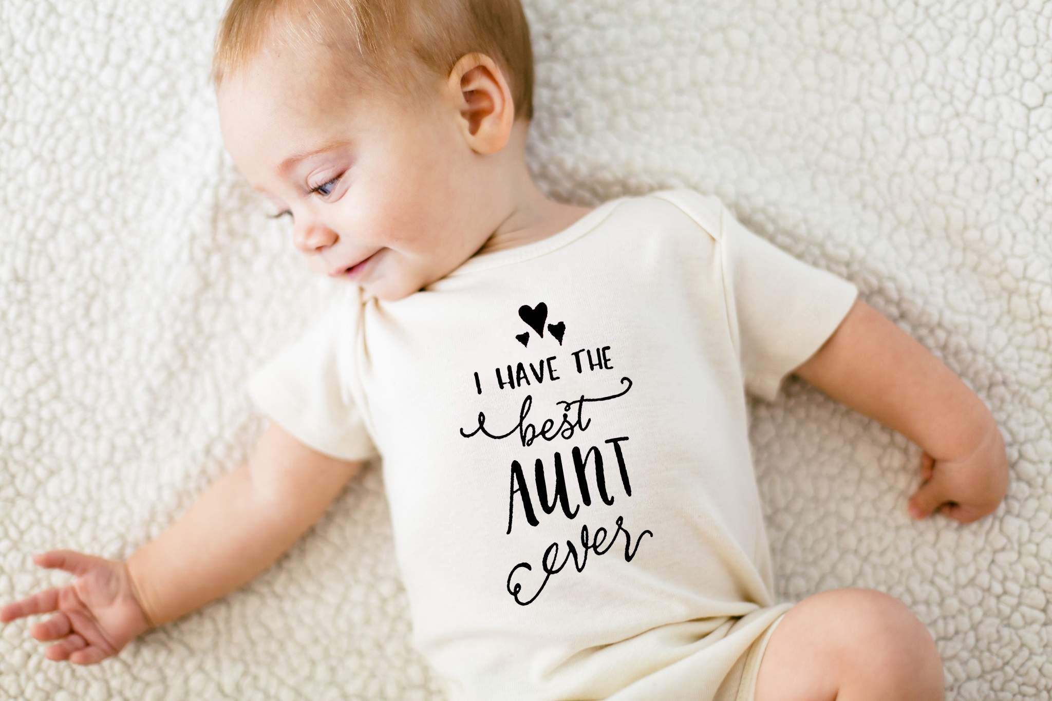 2020 New <font><b>Newborn</b></font> Infant <font><b>Baby</b></font> Girls Boys <font><b>Bodysuits</b></font> Best Aunt Print <font><b>Short</b></font> <font><b>Sleeve</b></font> White Playsuits Summer Clothes 0-24M image