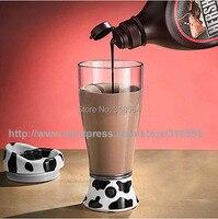 48 шт./лот 400 мл портативная молочная корова автоматическое самостоятельно перемешивание кружка кофе смешивание чай молоко чашки