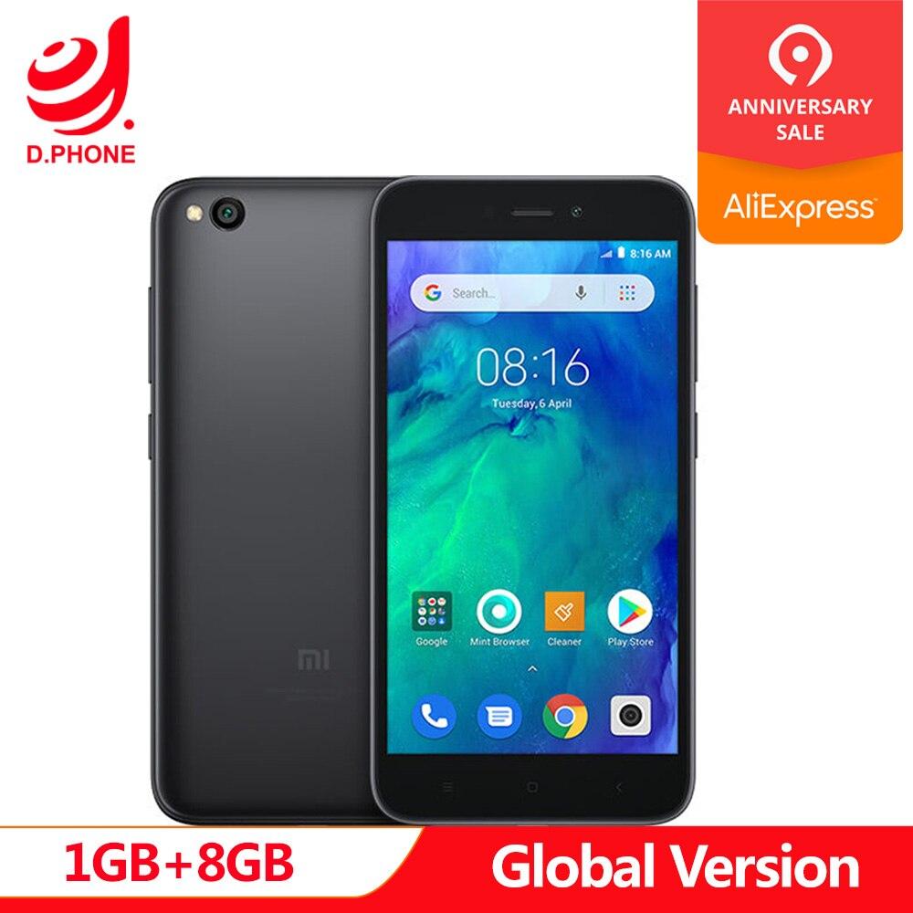 In Lager Globale Version Xiaomi Redmi GEHEN 1 GB RAM 8 GB ROM Snapdragon 425 Quad Core 5,0