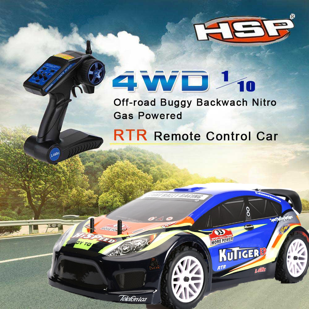 HSP 94118 RC Racing Car 1/10 Scale 4WD Electric Power