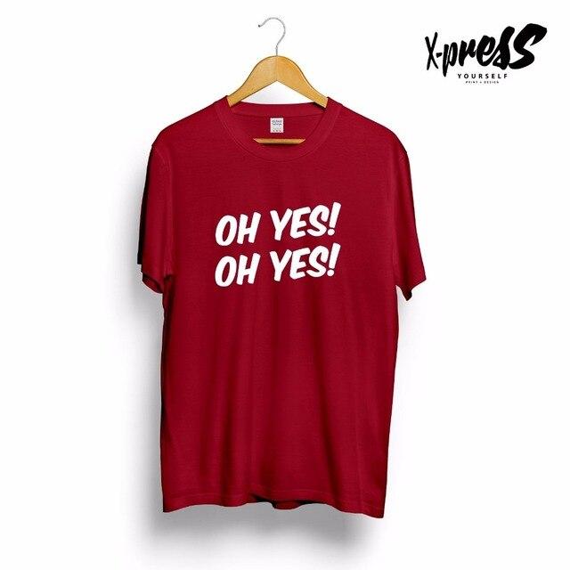 Música Cox Sim Slogan Homens Impresso Carl Oh Tshirt Dos fgyY6vb7