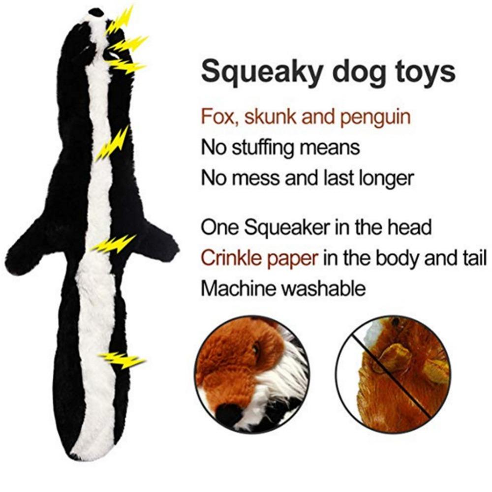 Lindos juguetes de peluche con sonido para mascota 4