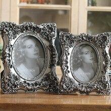 European style retro frame elegant old photo home furnishings fine classic imitation resin