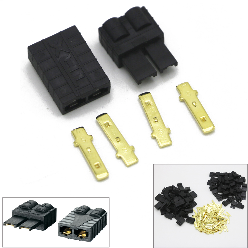 10 X RC Connector TRX Plug For Rc Lipo / NiMh Brushless ESC Battery RC Connector (5 Pair)