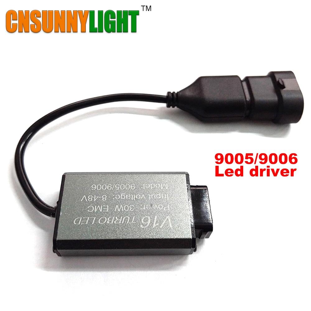 Car Led Headlight Driver Ballast Ignition 30W/40W 8-48V Plug H1 H3 H4 H7 9005/6 HB3/4 H11/8 Special for CNSUNNYLIGHT Headlihgts