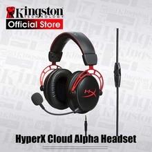 Kingston E Sport Headset Hyperx Cloud Alpha Gaming Headset Met Een Microfoon Voor Pc PS4 Xbox Mobiele