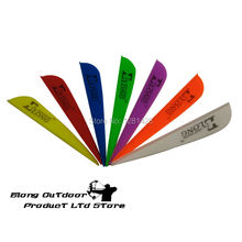 2016 New ELONG LOGO Vane For DIY Carbon Arrows Target Shooting&Hunting+100PCS/LOT&Free Shipping