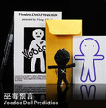 Free shipping! Voodoo Doll Prediction - Fantasy supernatural prophecy,street magic,close up magic,mentalism,magic tricks