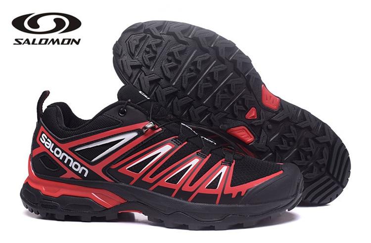 2018 New arrivel  Salomon XA Pro Black red Men Designer Shoes Comfortable Male Walking Sport Sneakers eur 40-45