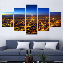 High Quality 5 Panels Home Decor Wall Art Painting Prints all view
