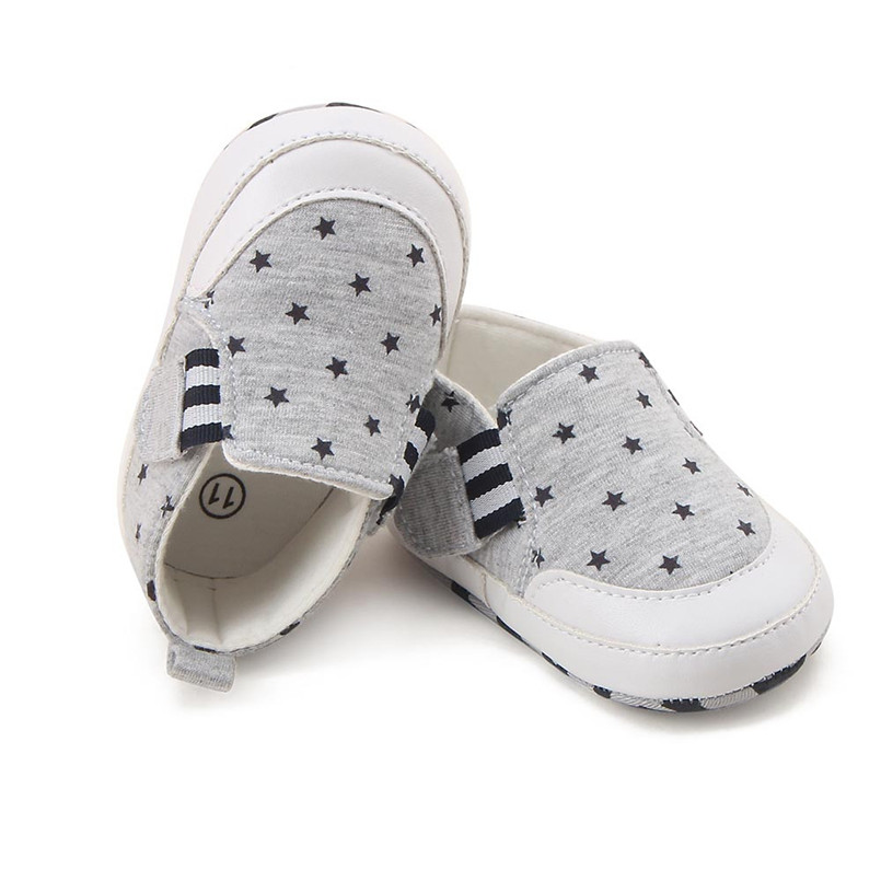 Baby shoes 2019 new Newborn Infant Baby Girl Boy Print Crib Shoes Soft Sole Anti-slip Sneakers Shoes #4M14 (11)