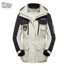 Trvlwego 스키 자켓 남자 여자 겨울 따뜻한 방풍 방수 야외 스포츠 스노우 자켓 나들이 뜨거운 스키 스노우 보드 코트 남자