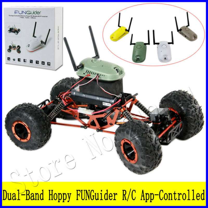 Dual Band Wifi Remote Control Hoppy Part With Camera R C Models Toy