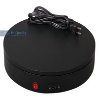 300X60MM Electric Automatic Rotary Rotating Turntable Jewelry Display Stand With FUSE Protection FCC CE Ceritficate