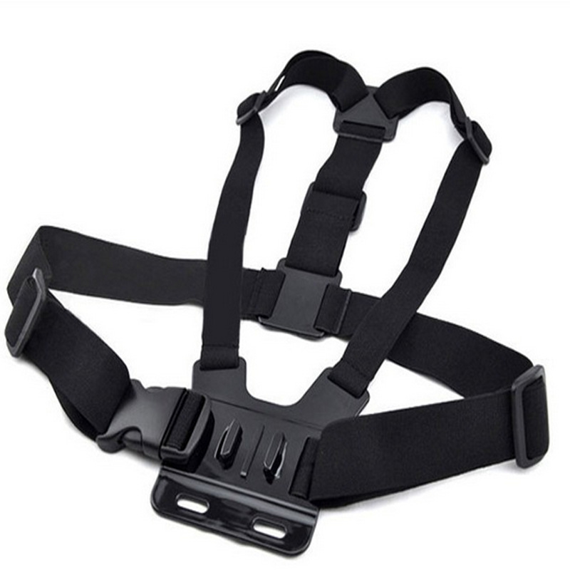 Adjustable Camera Strap Mount Elastic Chest Harness for GoPro 4 HD For Hero 2 3 Chest Belt Shoulder Strap Camera Accessories