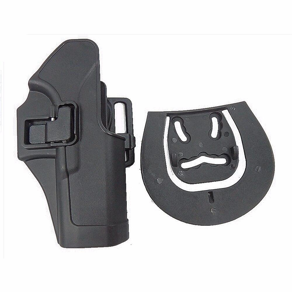 Venta caliente Funda de Pistola Gl Gl 17 19 22 Negro Pistolera Táctica Militar A