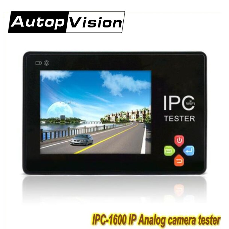 free shipping IPC1600 IP Camera tester 3.5 inch touch screen IP CCTV tester monitor 1080P ONVIF PTZ wifi analog camera tester wifi ipc 720p 1280 720p household camera onvif with allbrand camera free shipping
