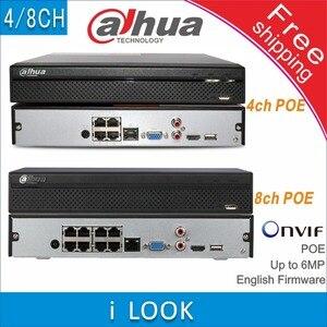 Image 1 - Gratis verzending Dahua NVR2104HS P vervangen NVR2104HS P S2 NVR2108HS 8P vervangen NVR2108HS 8P S2 4/8CH Netwerk Video Recorder POE NVR