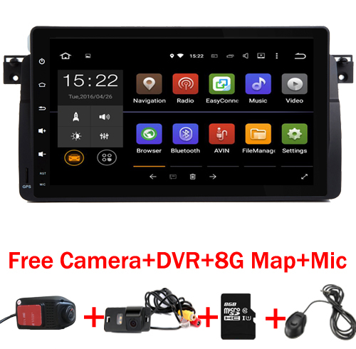 9 inch HD Touch Screen Android 9.0 Car DVD player for BMW E46 M3 With Wifi 3G GPS Bluetooth Radio RDS Steering wheel control Map-in Car Multimedia Player from Automobiles & Motorcycles