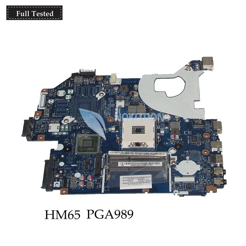 все цены на NOKOTION P5WE0 LA-6901P MB Laptop Motherboard For Acer 5750 5750G Series MBR9702003 MB.R9702.003 HM65 PGA989 Main board