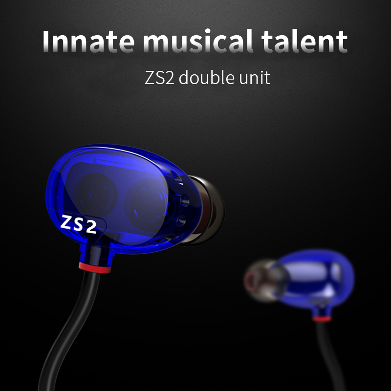 Dual Dynamic Driver HIFI Headphones Stereo Super Bass Monitors Fone De Ouvido Auriculares With Mic For Xiomi MP3 Player Phone