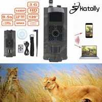 Skatolly Brand 1 HC700G 940nm Infrared Hunting Cam 16MP 3G GPRS MMS SMTP SMS 1080P Night