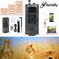 Skatolly Brand 1 HC700G 940nm Infrared Hunting Cam 16MP 3G GPRS MMS SMTP SMS 1080P Night