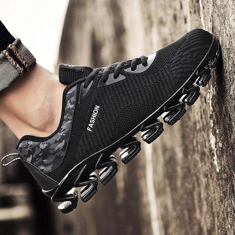 Hommes Luz Casuais gray Black Sapatos 45 5j1902 Tamanho Formadores Dos Claro azul Derramar 39 Respirável Homme black Chaussures Confortável Das Sapatilhas Cesta red Homens 0A4Oqw80