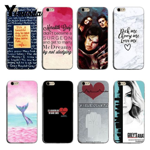 644e8a2bb3a Yinuoda Cute Greys Anatomy Quotes High Quality Classic Phone Accessories  Case For iPhone 6s 6plus 7 7Plus 8 8Plus X XS XR Cover