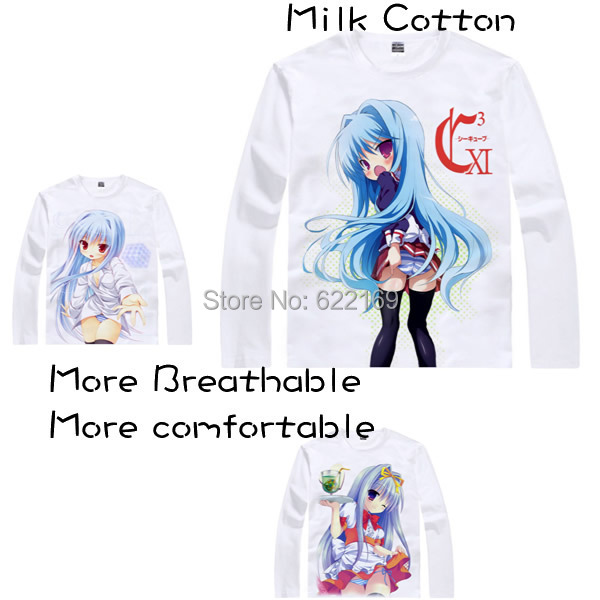 2015 C3 Cube nude girl Fear Cubrick T Shirt Anime Japanese Famous Animation Novelty Summ ...