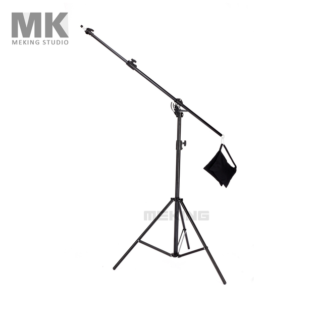 Meking Multi Function Light Boom stand Double Duty with Sand Bag 395cm/13in M-2 support For Softbox Light Stand fotografie