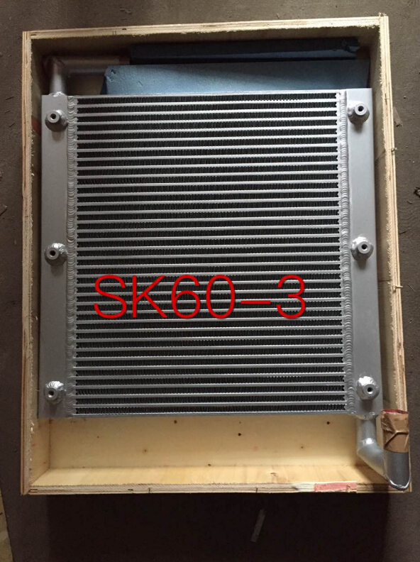 цены  Hydraulic Oil Cooler for Kobelco SK60
