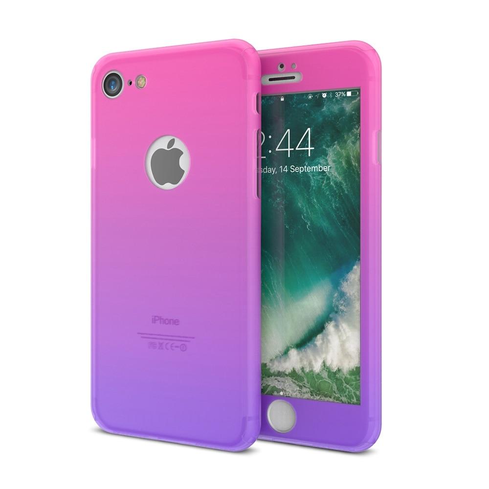 FLOVEME För iPhone 6 Fodral iPhone 6S 6 Plus Cover 360 graders - Reservdelar och tillbehör för mobiltelefoner - Foto 5