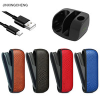 JINXINGCHENG Charger for Charging Pouch Case for iqos 3.0 Leather Bag Protective Holder Accessories