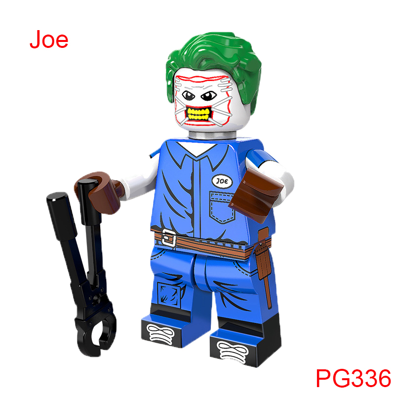 Building Block Guardian Joe Figure Super Heroes Star Wars Mini Doll Single Sale Christmas Gift Toys For Children Hobbies Pg336