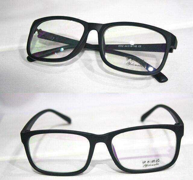 Fullrim матовый черный мода Близорукость очки Оптические заказ оптические линзы очки Для Чтения-1.00 до-6.00