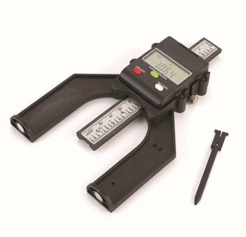 Échelle de mesure de la profondeur de l'affichage numérique métrique spécial du travail du bois 0-80 MM ventouse magnétique sur le fond