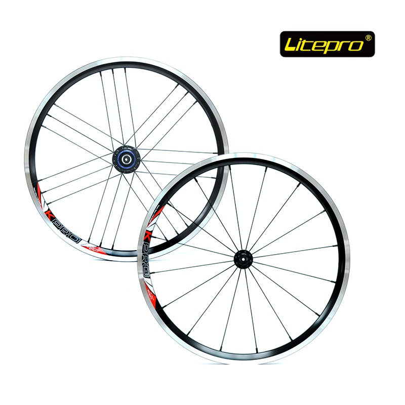 Folding Bike 20 inch 406 16-21H Ultralight Wheel set 4 Bearing Hub 74/100mm 130/135mm Front Rear Quick release For da hon sp8 new folding bike wheel set litepro 20inch 451 wheelset 74 100mm 130 135mm 14 16h 4beraing hub froth rear quick release wheels