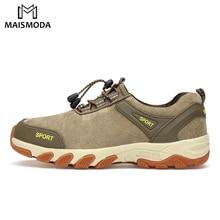 MAISMODA Спорт на открытом воздухе Мужская походная обувь тактические походные кроссовки для походов и походов походные сникерсы водонепроницаемые YL347