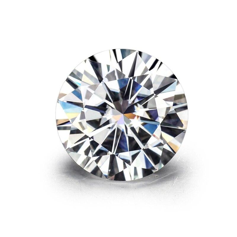 Top Qualität EF Farbe Runde Brillant Geschnitten 8,0mm 2ct Lose Moissanites Edelstein.-in Lose Diamanten & Edelsteine aus Schmuck und Accessoires bei  Gruppe 1