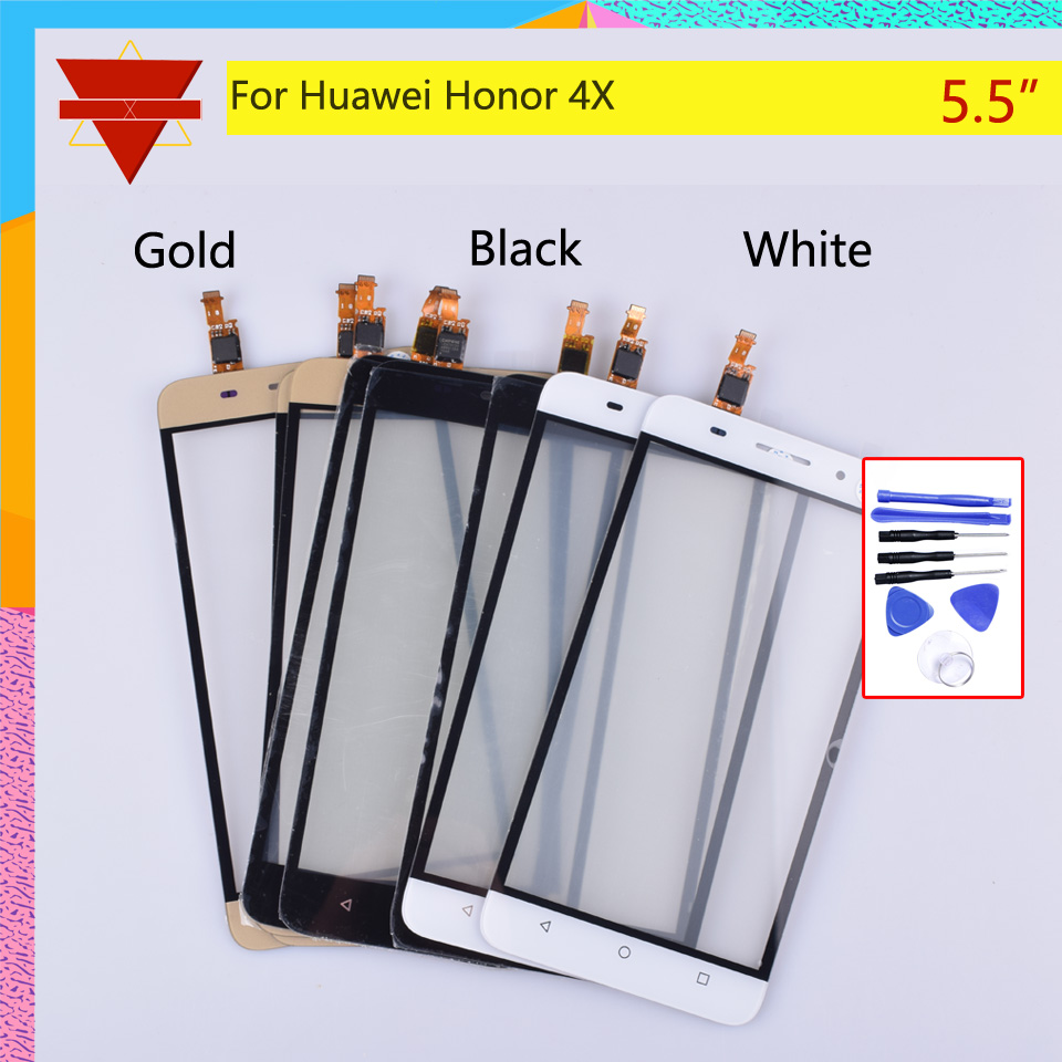 New 5.5 Inch Touchscreen For Huawei Honor 4X Che2-L12 Che2-L23 Che2-L11 Che1-L04 Touch Screen Digitizer Sensor Replacement Parts