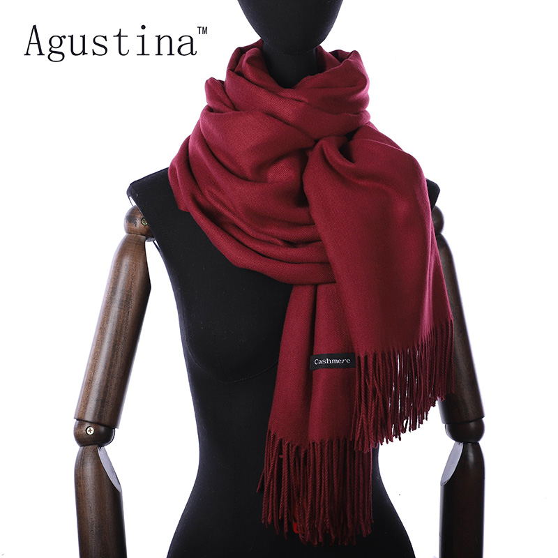 Women Cashmere Scarf Winter Scarfs Shaw Lhijab Luxury Pashmina Schal Scarves Brand Sjaal Echarpe Valentine's Day Poncho Oversize