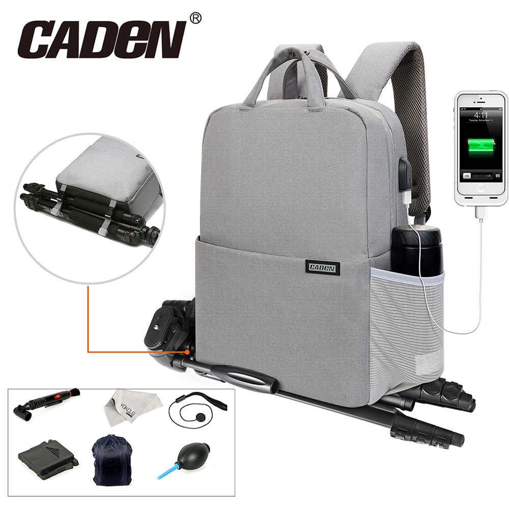 e4a3035711 CADeN Three sizes Camera Bag Digital Camera Videos Waterproof Laptop School  Casual Photo Bag for Canon