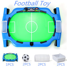 1Set Mini  Football Table Toy Kids Educational Family Soccer Funny Desktop Football Games Child Sport Gifts Board Games