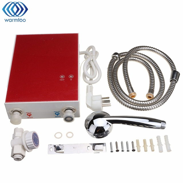 Electric Water Heater Kitchen Tankless Boiler System Instantaneous ...