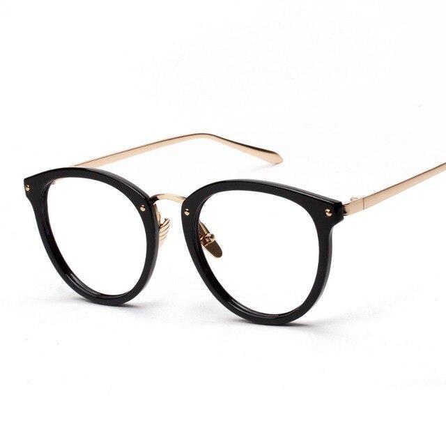 ce004d836bd Round Glasses Korean Fashion