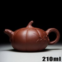 Authentic Yixing Zisha Masters Handmade Teapot Ore Purple Mud Pumpkin Pot Crafts Wholesale And Retail 448