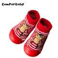 Calcetines de bebé Calcetines de Los Niños Inferiores Suaves Suelas De Goma Antideslizantes calcetines del Piso Niños Enfant BootsToddler Niña Niño Recién Nacido Zapatos Calcetines WS9321